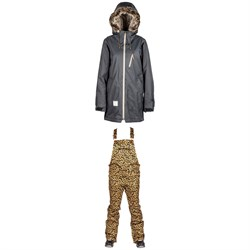L1 Fairbanks Jacket ​+ Loretta Overall Bibs - Women's