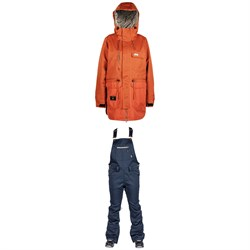L1 Emma Jacket ​+ Loretta Overall Bibs - Women's