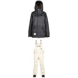 L1 Anwen Jacket ​+ Loretta Overall Bibs - Women's