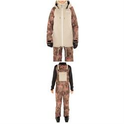 Armada Gypsum Jacket + Cassie Overall - Women's