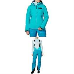 Helly Hansen Odin Mountain 3L Shell Jacket ​+ Bib Pants - Women's