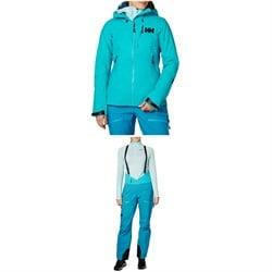 Helly Hansen Odin Mountain 3L Shell Jacket + Bib Pants - Women's