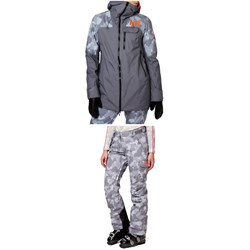 Helly Hansen Whitewall LifaLoft™ Jacket ​+ Switch Cargo 2.0 Pants - Women's