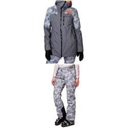 Helly Hansen Whitewall LifaLoft™ Jacket + Switch Cargo 2.0 Pants - Women's