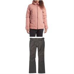 Holden Auburn Down Jackets ​+ Holden Standard Skinny Pants - Women's
