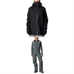 Houdini Leeward Jacket ​+ Rollercoaster Pants - Women's