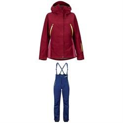 Marmot Spire Jacket + Marmot Spire Bibs - Women's