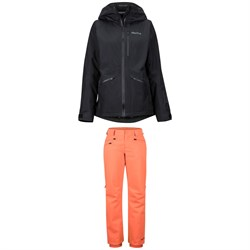Marmot Lightray Jacket + Marmot Slopestar Pants - Women's
