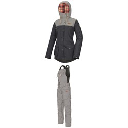 Picture Organic Kate Jacket ​+ Seattle Bibs - Women's