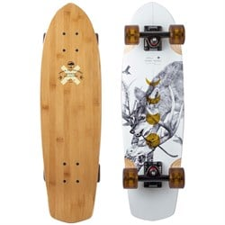 Arbor Pocket Rocket Bamboo Cruiser Skateboard Complete