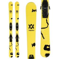 Volkl Mini Revolt Jr Skis + VMotion 4.5 Bindings - Little Boys'