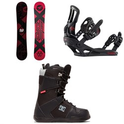 Rossignol Circuit Snowboard ​+ Rossignol Battle Snowboard Bindings ​+ DC Phase Snowboard Boots 2020