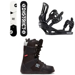 Rossignol District Snowboard ​+ Rossignol Battle Snowboard Bindings ​+ DC Phase Snowboard Boots 2020