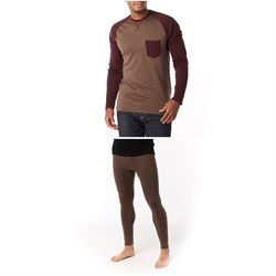 Smartwool Merino 250 Pocket Crew Top ​+ Bottoms