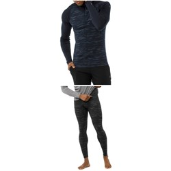 Smartwool Merino 250 Baselayer Pattern 1​/4 Zip Top ​+ Bottoms