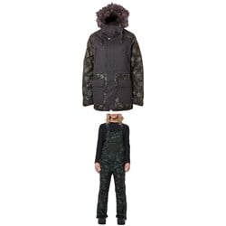Rojo Outerwear Dakota Jacket ​+ Snow Day Bibs - Women's