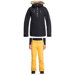 Roxy Shelter Jacket + Backyard Pants - Women's