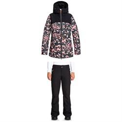 Roxy Stated Jacket + Cabin Pants - Women's