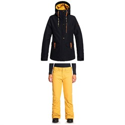 Roxy Andie Jacket + Backyard Pants - Women's
