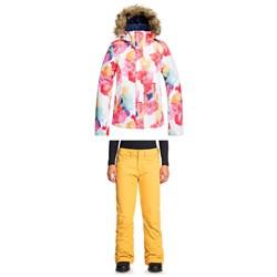 Roxy Jet Ski Jacket + Backyard Pants - Women's