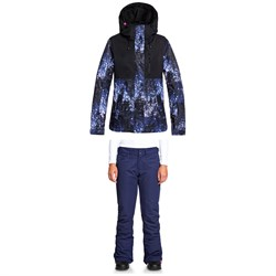 Roxy Jetty 3N1 Jacket ​+ Backyard Pants - Women's