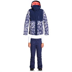 Roxy Jetty Block Jacket ​+ Backyard Pants - Women's