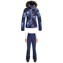 Roxy Snowstorm Plus Jacket + Rising High Pants - Women's