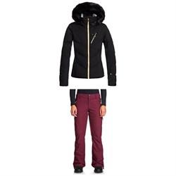 Roxy Snowstorm Plus Jacket + Cabin Pants - Women's