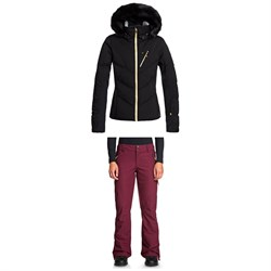 Roxy Snowstorm Plus Jacket ​+ Cabin Pants - Women's