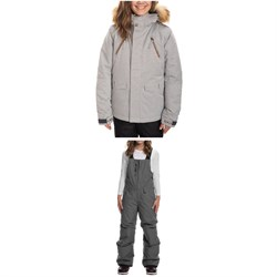 686 Ceremony Insulated Jacket ​+ Sierra Insulated Bibs - Big Kids'