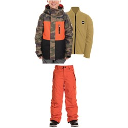 686 Smarty 3-in-1 Insulated Jacket ​+ Infinity Cargo Pants - Big Boys'