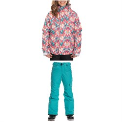 686 Dream Insulated Jacket ​+ Lola Insulated Pants - Big Girls'