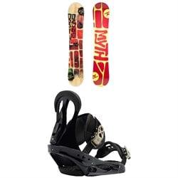 Rossignol Myth Snowboard - Women's + Burton Citizen Snowboard Bindings - Women's