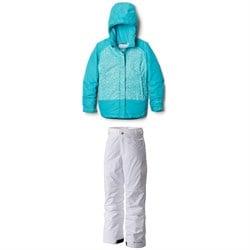 Columbia Mighty Mogul Jacket + Starchaser Peak II Pants - Girls'