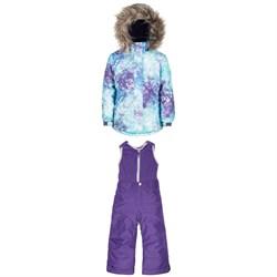 Jupa Anastasia Jacket + Beatrice Polar Fleece Top Pants - Little Girls'