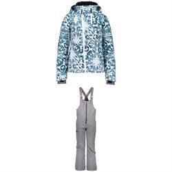 Obermeyer Taja Print Jacket ​+ Anya Bib Pants - Big Girls'