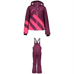 Obermeyer Tabor Jacket ​+ Anya Bib Pants - Big Girls'
