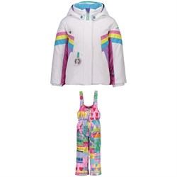 Obermeyer Neato Jacket ​+ Snoverall Printed Pants - Little Girls'