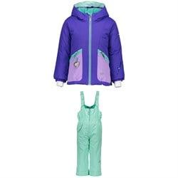 Obermeyer Glam Jacket + Snoverall Pants - Little Girls'