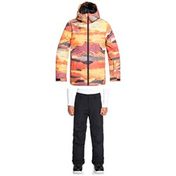 Quiksilver Mission Printed Jacket ​+ Quiksilver Estate Pants - Big Boys'