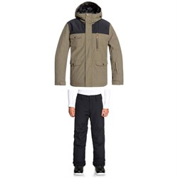 Quiksilver Raft Jacket ​+ Estate Pants - Big Boys'