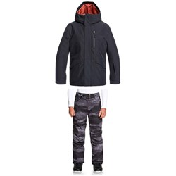 Quiksilver Mission Jacket ​+ Estate Pants - Big Boys'