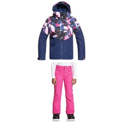 Roxy Frozen Flow Jacket ​+ Backyard Pants - Big Girls'