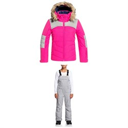 Roxy Bamba Jacket ​+ Non Stop Bib Pants - Big Girls'