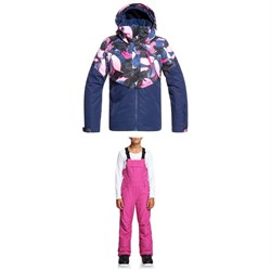 Roxy Frozen Flow Jacket ​+ Non Stop Bib Pants - Big Girls'