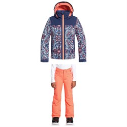 Roxy Delski Jacket ​+ Backyard Pants - Big Girls'