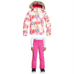 Roxy American Pie Jacket + Backyard Pants - Big Girls'