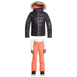 Roxy American Pie Solid Jacket ​+ Backyard Pants - Big Girls'