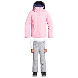 Roxy Jetty Solid Jacket ​+ Backyard Pants - Big Girls'