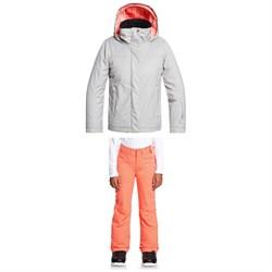 Roxy Jetty Solid Jacket + Backyard Pants - Big Girls'